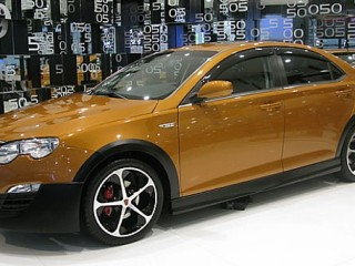 A halo model would boost the MG6's image. This could take inspiration from the Roewe 550 Sport, shown here.